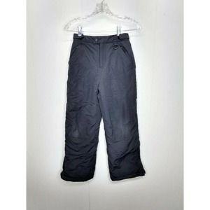 LL Bean Kids Youth 10 Black Snow Pants Winter Ski
